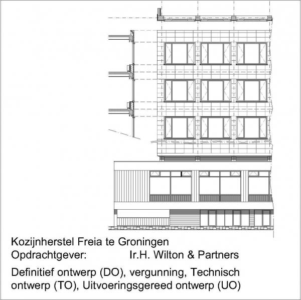 Freia Radesingel Groningen kozijnherstel