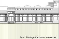 Artis Plantage Kerklaan Amsterdam bestaande toestand Micropia
