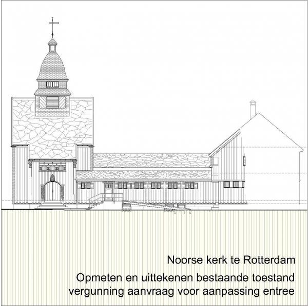 Noorse kerk Rotterdam