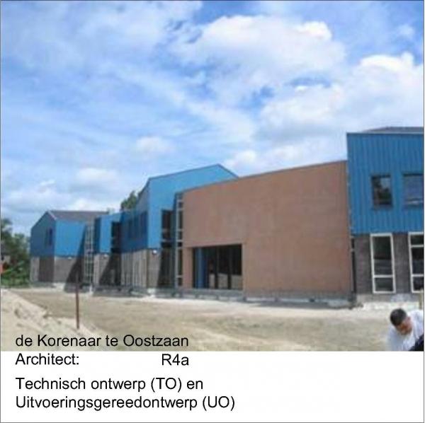 Nieuwbouw schoolgebouw De Korenaar Oostzaan