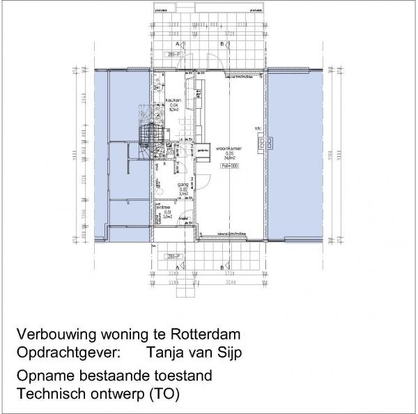 Verbouw woning Donizettilaan Rotterdam Hillegersberg
