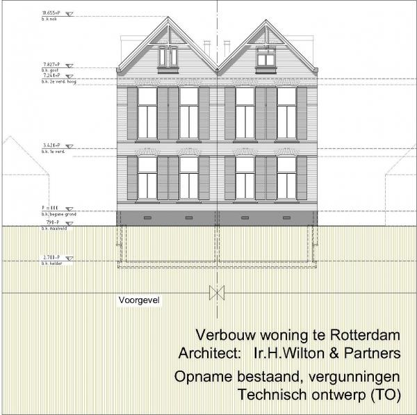 Verbouw dubbele woning Essenweg Rotterdam Kralingen