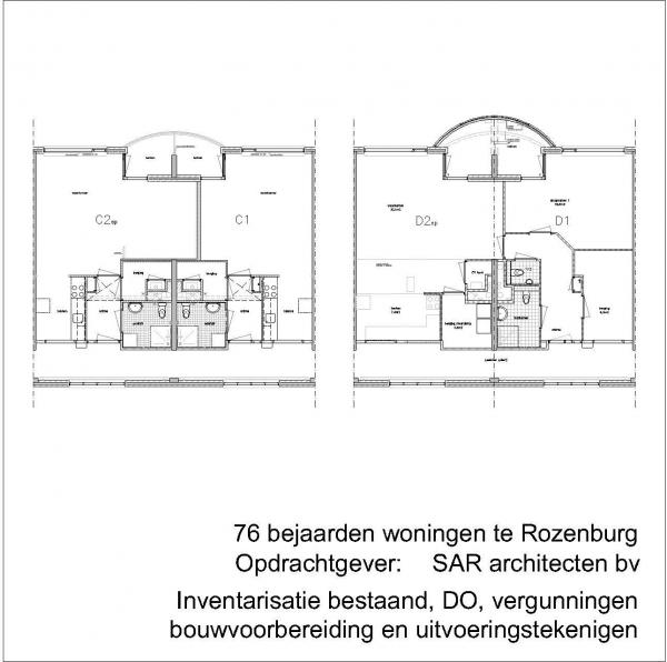 Verbouw seniorenwoningen Rozenburg