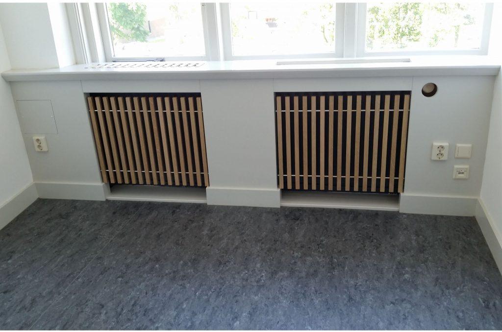 radiator frames