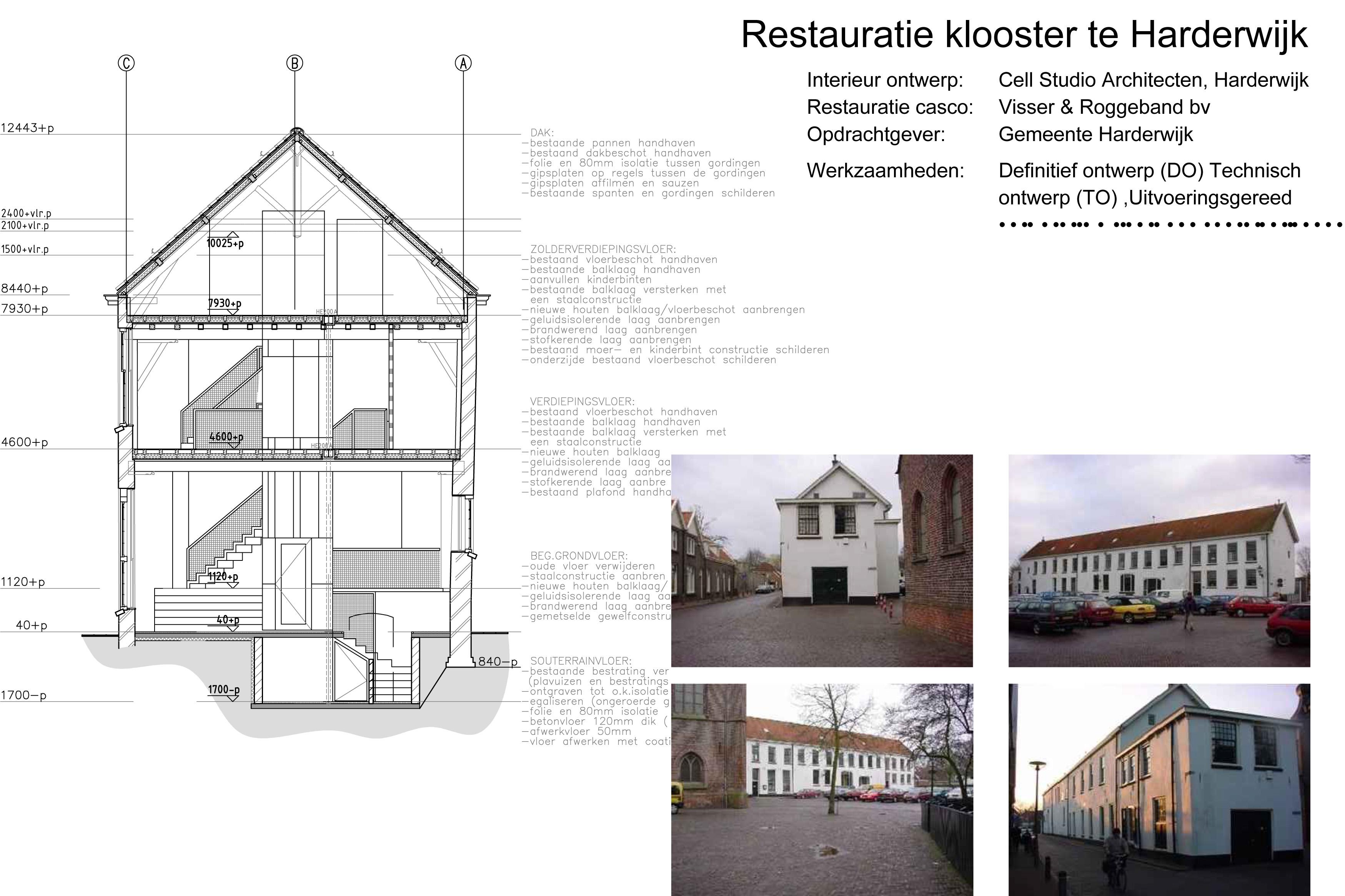 Restauratie Klooster Harderwijk