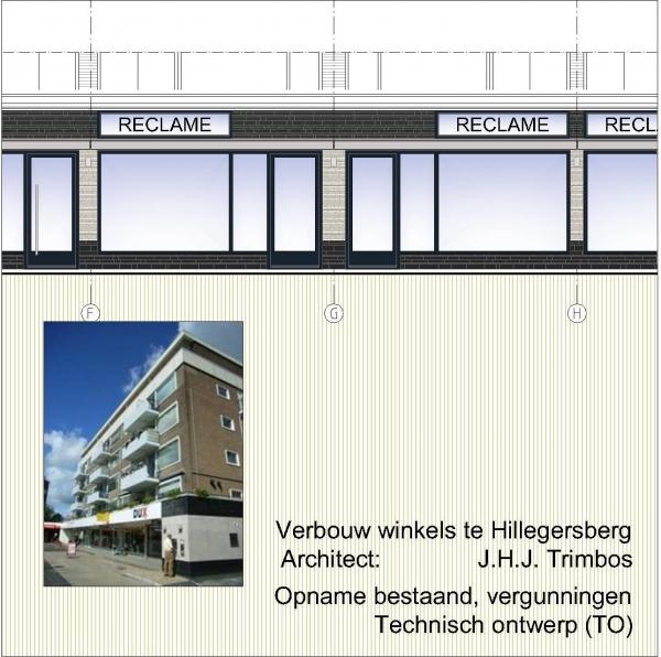 Rotterdam Hillegersberg Schubertlaan revitalisatie winkelgalerij