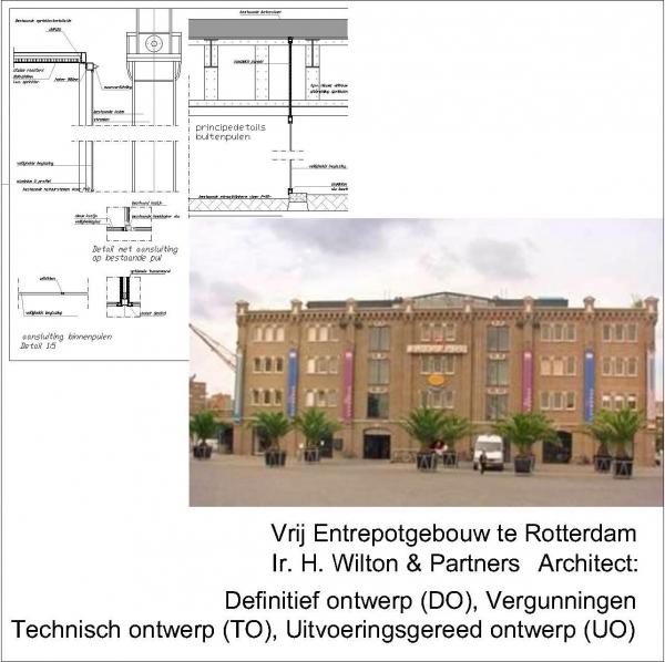 Vrij Entrepotgebouw Rotterdam