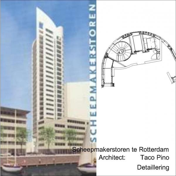 Woontoren Scheepmakershaven Rotterdam