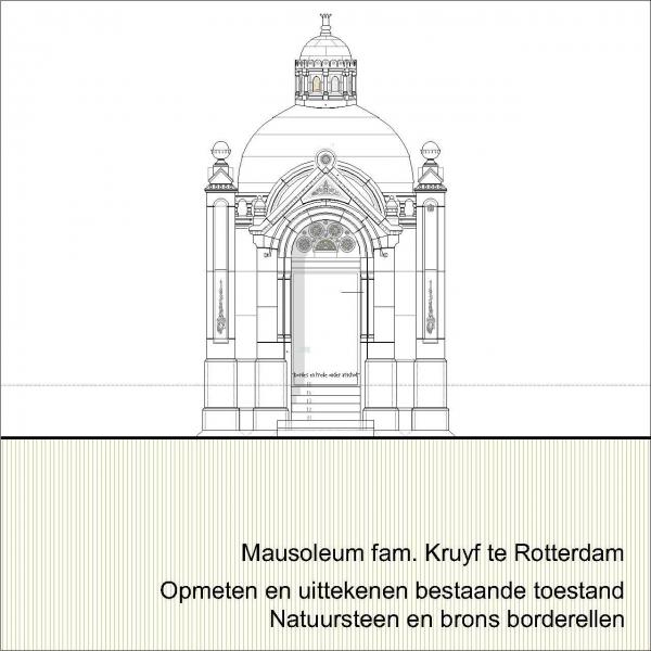 Mausoleum begraafplaats Rotterdam Kralingen