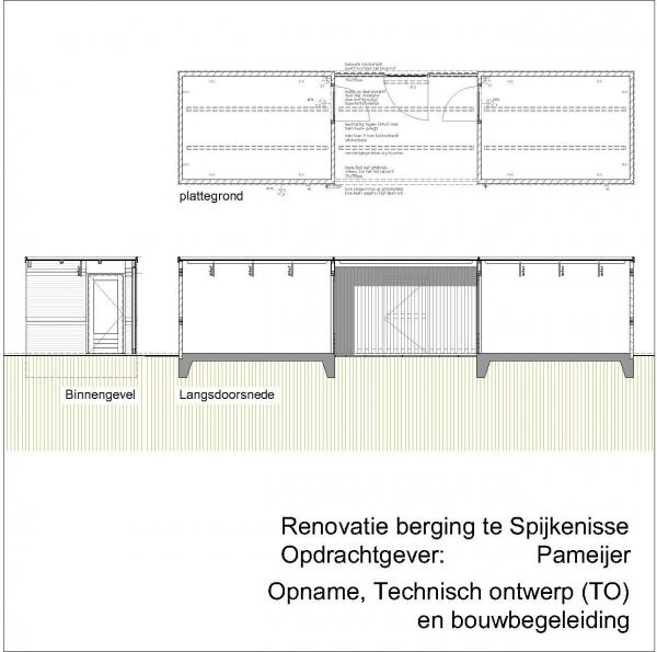 Renovatie berging Dreef Spijkenisse